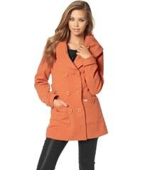 Krátký dvouřadový kabát BUFFALO 34 oranžová