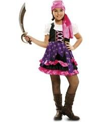 Dětský kostým Cikánská pirátka Pro věk (roků) 10-12