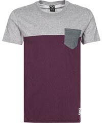 Iriedaily Block Pocket T-Shirts T-Shirt red wine