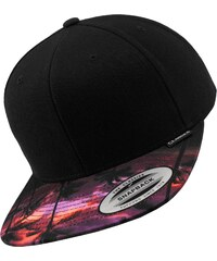 Flexfit Sunset Peak Snapback black