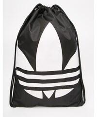 Adidas Originals - Sac à dos avec cordon de serrage - Noir - Noir