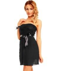 Ostatní Černé krátké šaty