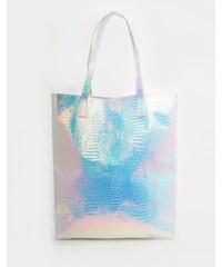 ASOS - Shopper-Tasche für den Strand mit Hologrammdesign - Mehrfarbig
