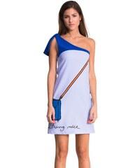 Desigual šaty Blue 52V28G1