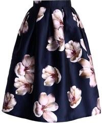 Modrá sukně s vysokým pasem - Glami.cz a467fb941d
