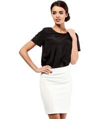 Bílá sukně MOE 011