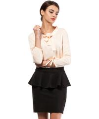 Černá sukně MOE 010