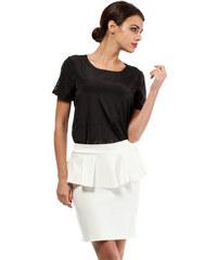 Bílá sukně MOE 010