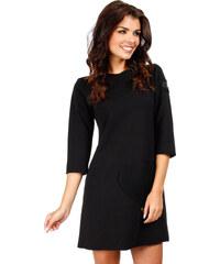Černé šaty MOE 053
