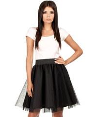 Černá sukně MOE 084