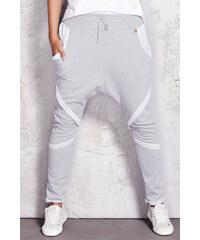 Infinite You Šedé teplákové kalhoty M052 bfe68abf07