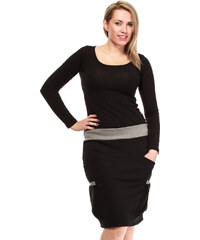 MOE Černá sukně L&L 013