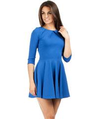 Tmavě modré šaty s tříčtvrtečním rukávem Lemoniade Amalia S - Glami.cz 32276e09d8
