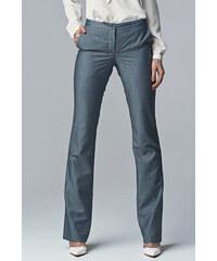 Nife Šedo-modré kalhoty SD20