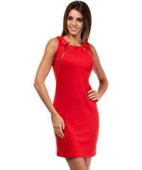 Červené šaty MOE 173