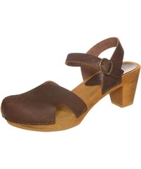 Sanita MATRIX Clogs antique brown