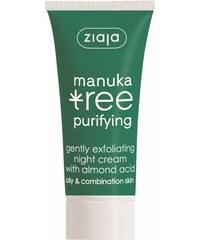Ziaja Manuka Tree Purifying jemně exfoliační noční krém 50 ml