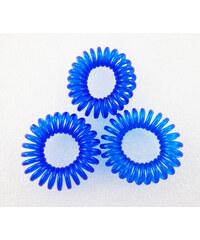 Zázračná gumička do vlasů - modrá