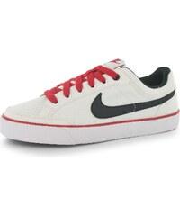 Plátěné tenisky Nike Capri 3 Textile dět. bílá/černá/červená