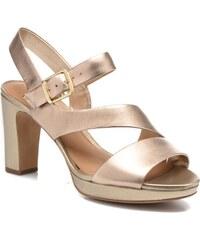 Clarks - Jenness Soothe - Sandalen für Damen / gold/bronze