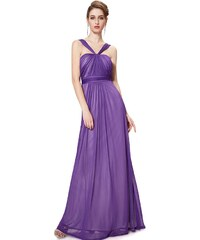 Ever-Pretty plesové šaty Bohém, fialové