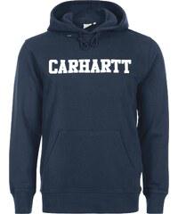 Carhartt Wip Hooded College sweat à capuche navy/white
