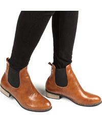 Lesara Chelsea-Boots mit Nieten-Detail - 35