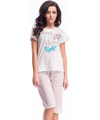 Dobranocka Béžové pyžamo PM7008