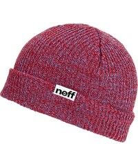 Neff Fold Heather Beanie blue red