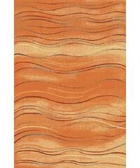 Spoltex Kusový koberec AQUARELLE - hnědý