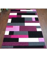 Orfa Kusový koberec PILLY 8403 black purple