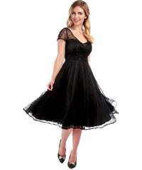 COLLECTIF Dámské společenské šaty Nina černé