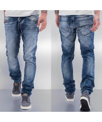 Cazzy Clang Cazzy Washed Jeans Blue