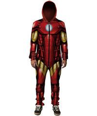 Mr. GUGU & Miss GO Iron Man Onesie Front