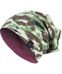MD Jersey Reversible Beanie Camo Woodl./Maroon