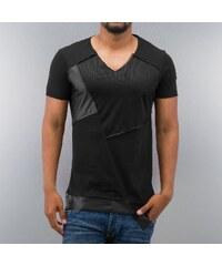 Bangastic Mesh V-Neck T-Shirt Black