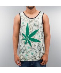 Just Rhyse Weed And Money Tank Top Colored