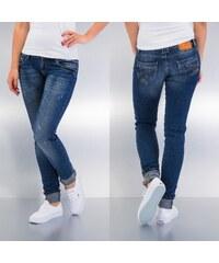 Just Rhyse Bea Skinny Fit Jeans Dark Blue