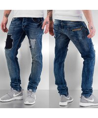 Bangastic Washed Straight Fit Jeans Light Blue
