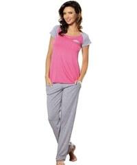 Dámské pyžamo Babella Cler Růžová