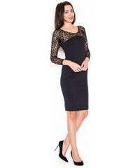 KATRUS Dámské šaty K322 black