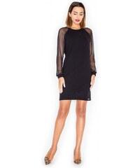 KATRUS Dámské šaty K332 black