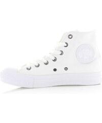Converse Dámské bílé vysoké tenisky Canvas Trainers 87a2c85110