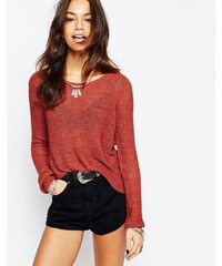Only - Geena - Strickpullover - Rot