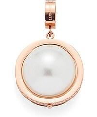 Jewels by Leonardo Charm-Einhänger: Anhänger mit Glasstein, »darlin's nobile roségold, 015663«