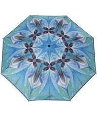 Doppler Regenschirm, Taschenschirm blau »Magic Carbonsteel Molcecule«