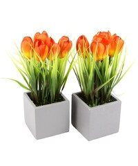 Home affaire Kunstblume »Tulpen« (2er Set)