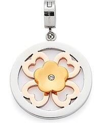 Jewels by Leonardo Charm-Einhänger: Anhänger Blüte mit Glasstein, »darlin's ragazzo, 015756«