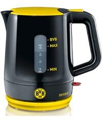Severin Wasserkocher WK 9742, Borussia Dortmund Fanartikel 1,2 Liter, 1500 Watt, schwarz-gelb