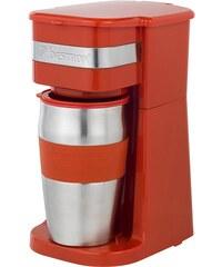 Bestron Kaffeemaschine ACM111R, rot
